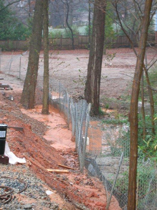 erosion in my backyard